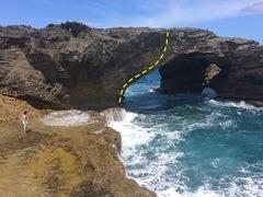 Rock Climbing Photo: Marejala Feliz 5.11c
