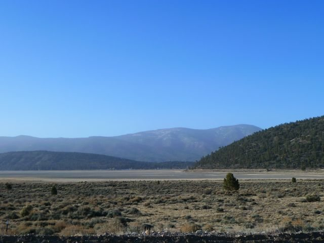 The eastern end of Big Bear Valley, San Bernardino Mountains