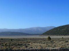 Rock Climbing Photo: The eastern end of Big Bear Valley, San Bernardino...