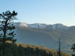 Rock Climbing Photo: Mt. San Gorgonio from 2N93, San Bernardino Mountai...