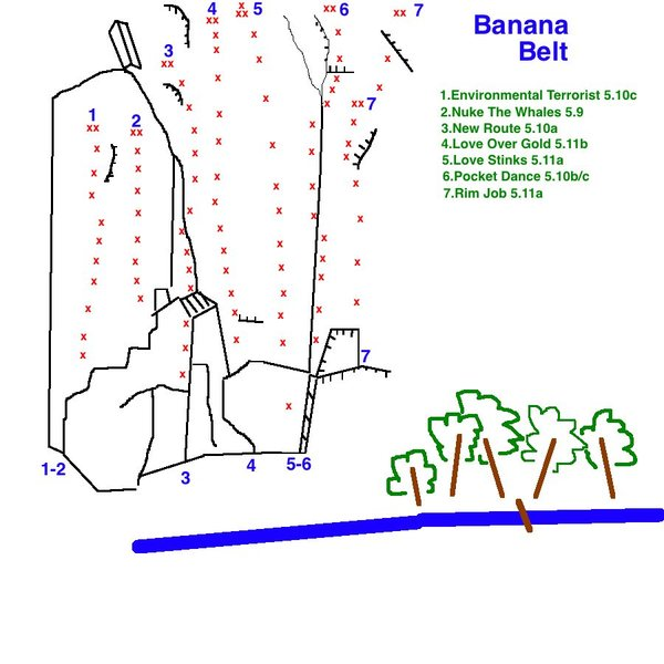 Topo To Banana Belt