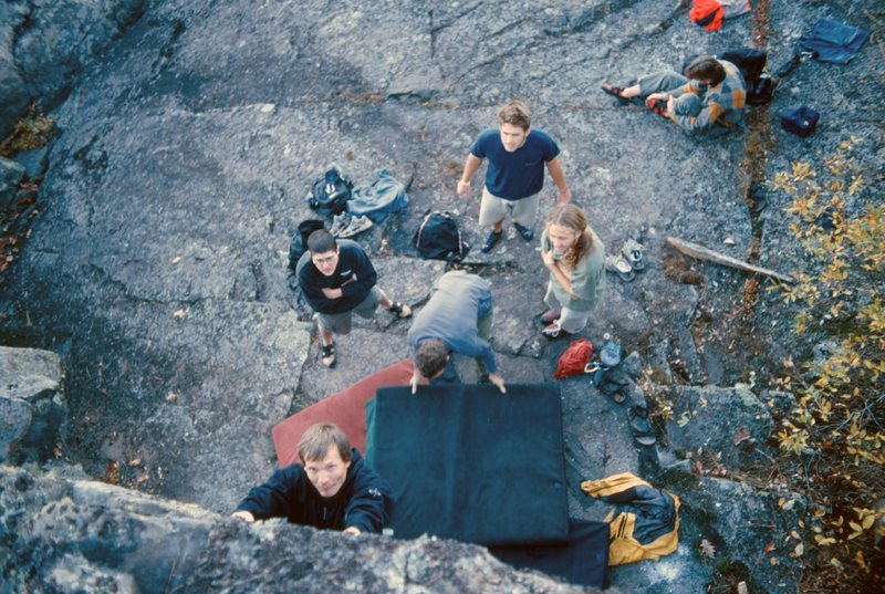 Rock Climbing Photo: Little Presque Isle