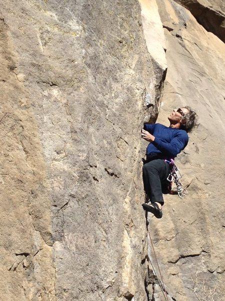 Rock Climbing Photo: Pyroclasm @ Owen's River Gorge