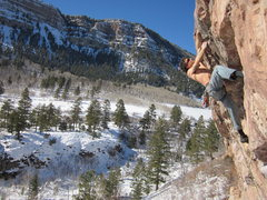 Rock Climbing Photo: Jonathan Schaffer on Softball (not sure what we're...