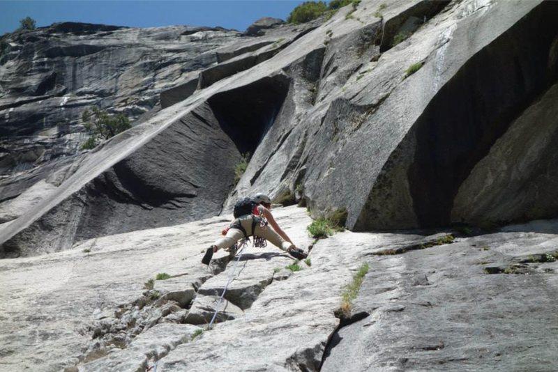 Rock Climbing Photo: Superslide
