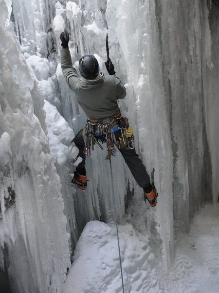 Rock Climbing Photo: Ohio ice