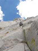Rock Climbing Photo: Cardinal pinnacle. West face.