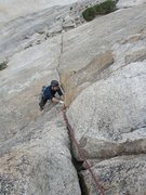 Rock Climbing Photo: Lambert dome. NW face