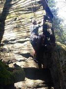 Rock Climbing Photo: Michael H Climbing