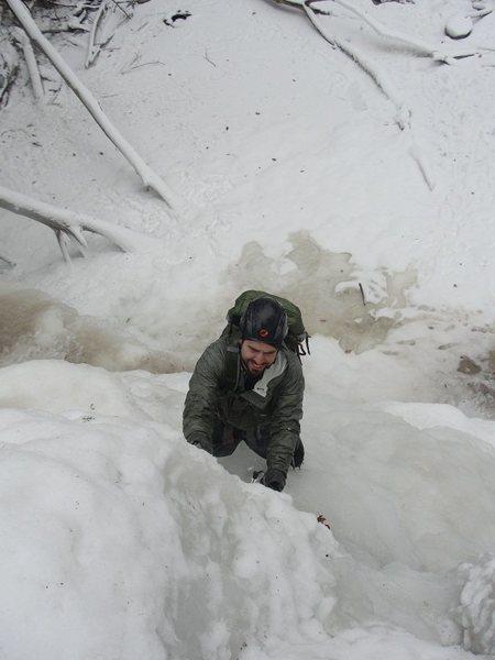 Rock Climbing Photo: Falls solo.