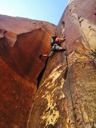 Rock Climbing Photo: Michelle on P3