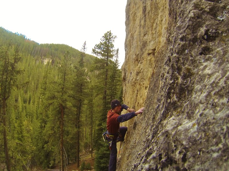 Rock Climbing Photo: Getting sick on good holds!