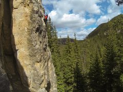 Rock Climbing Photo: Mark on the slab.