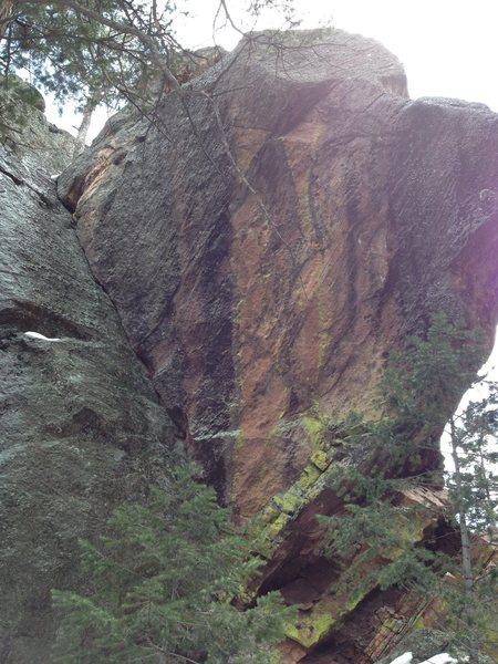 The corner crack is Lichen-thrope.