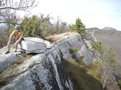 "Rock Climbing Photo: Will looking out over the ridge, note the ""se..."