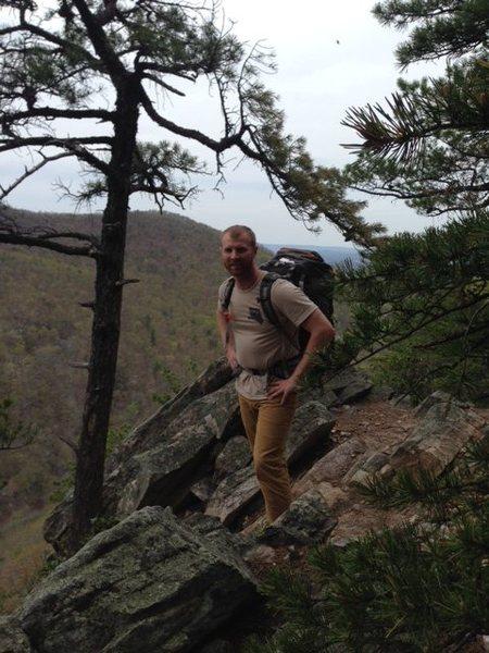 Top of the ridgeline at Buzzard Rocks.