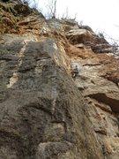 Rock Climbing Photo: Top-roping Perfect Crimb.