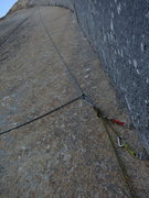 Rock Climbing Photo: Trusting my life to that bolt on my first of 2 bai...