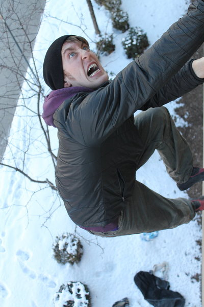 Rock Climbing Photo: Stoked