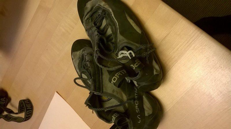 Rock Climbing Photo: shoes!