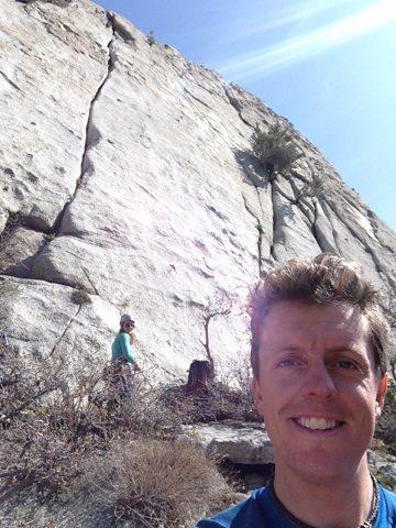 Rock Climbing Photo: A classic historic line!
