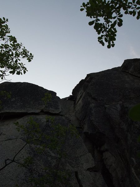 Rock Climbing Photo: Hundred Dollar Dash from below