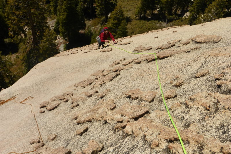 Rock Climbing Photo: 5.superfun on pitch 2