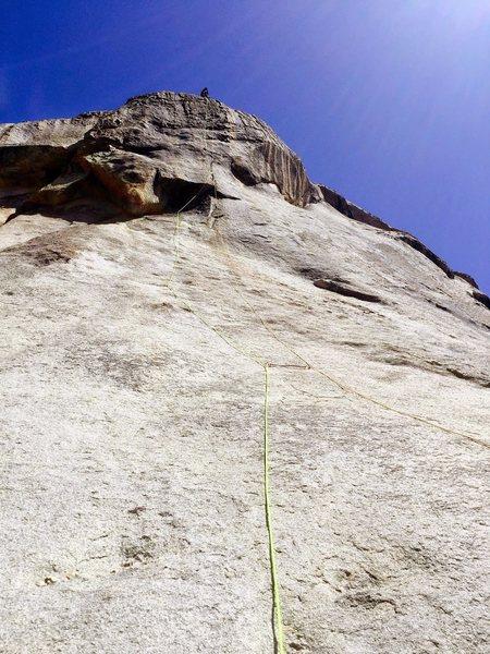 Rock Climbing Photo: Ground up, nukka!