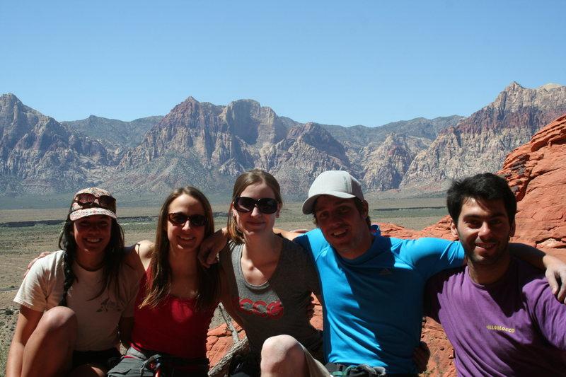 the gang at red rocks