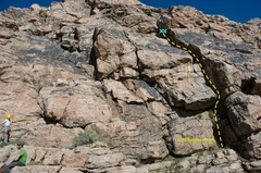 Rock Climbing Photo: Cold Sunday in Hell