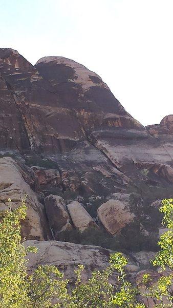 Rock Climbing Photo: Fractional Existence.