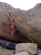 Rock Climbing Photo: Splitter Roof!