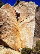 Rock Climbing Photo: Golden Corner!