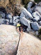 Rock Climbing Photo: Woody Splitter!