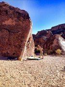 Rock Climbing Photo: Solarium!