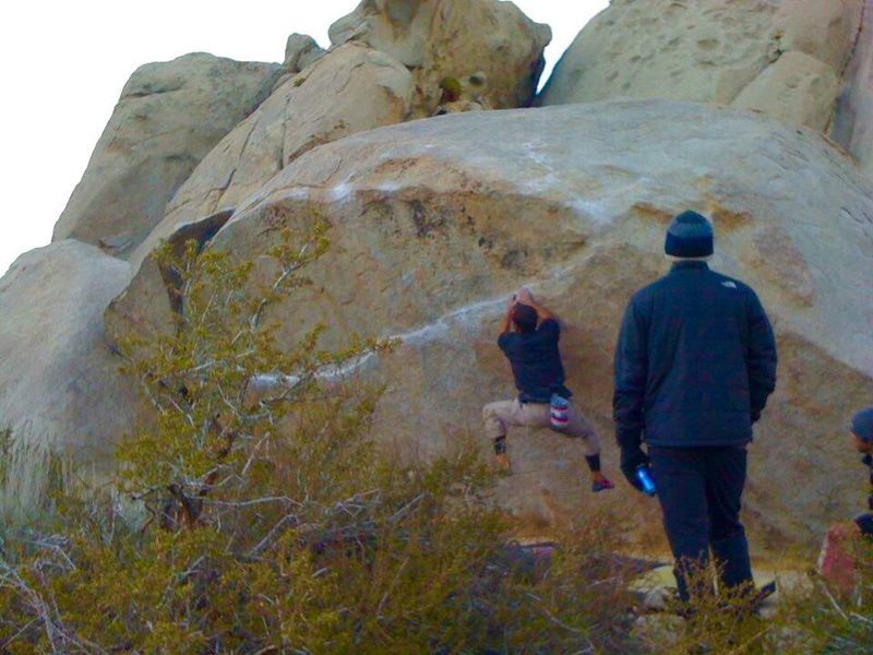 Super top secret bouldering area!!!