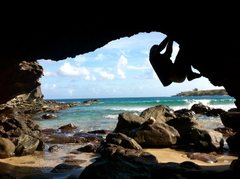 Rock Climbing Photo: Tropical Paradise Bouldering!