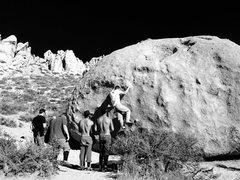 Rock Climbing Photo: King Tut!