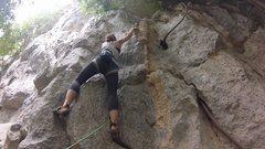 Rock Climbing Photo: Katie on Tee Rak Soo Soo