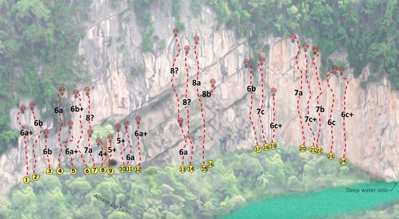 Phasak River Wall topo photo
