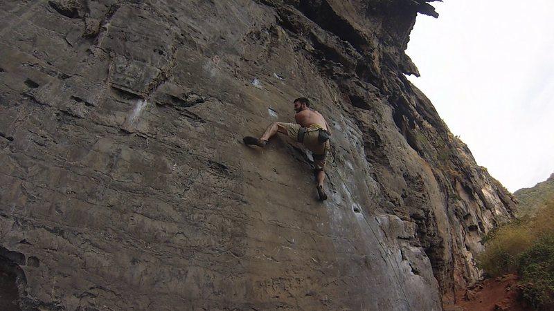 Rock Climbing Photo: Hello Dali