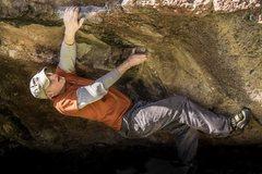 Rock Climbing Photo: Smith bouldering