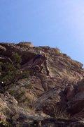 Rock Climbing Photo: Crux section.