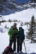 Rock Climbing Photo: Chris Owen & Sara Susca, after dong some runs in a...