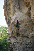 Rock Climbing Photo: Rita Shin making it look easy.  Photo by Steve Cox