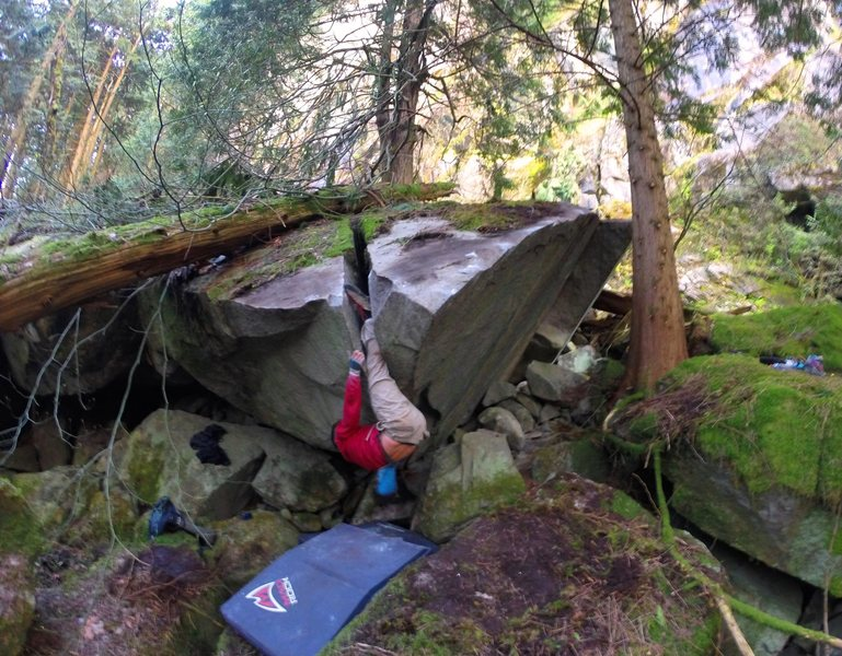 Rock Climbing Photo: Mike