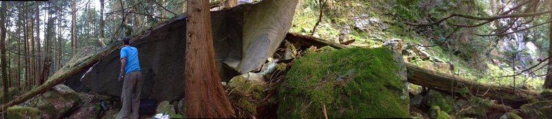 Trepanning Extension, Upper Stacks