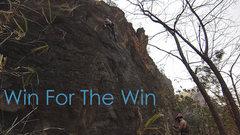 Rock Climbing Photo: Katie sending Win for the Win