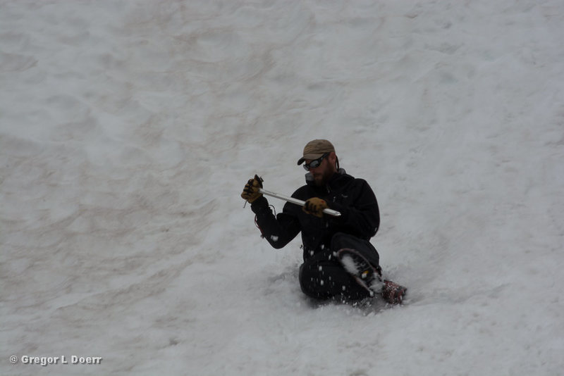 Rock Climbing Photo: Self Arrest