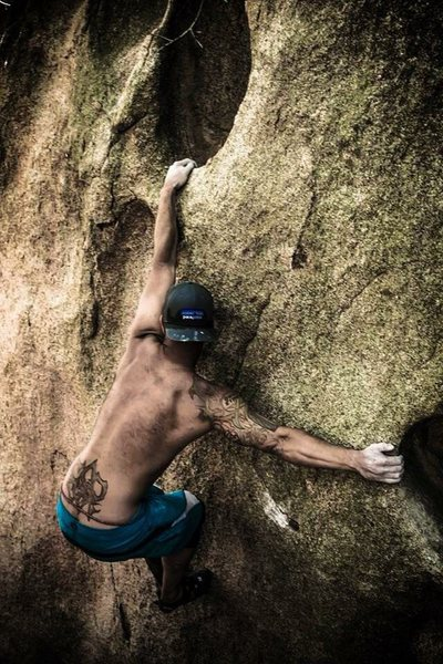 Rock Climbing Photo: Super Hueco!